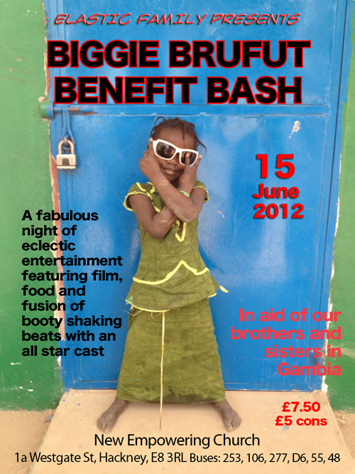 Biggie Brufut Benefit Bash 15th June
